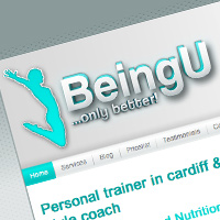 beingu-personal-trainer-website-design