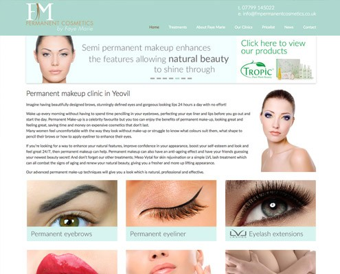 cosmetics-website-design
