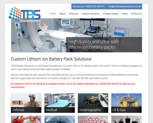manufacturer-website-design