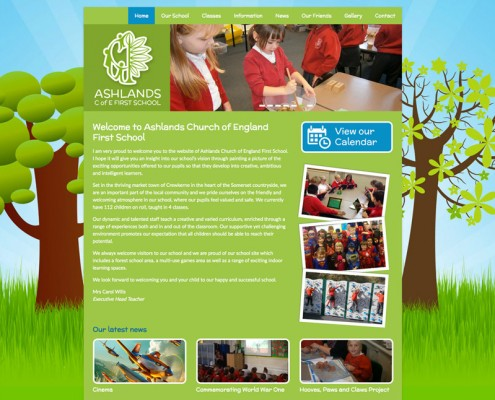 primary-school-website-design