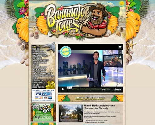 tour-guide-website-design